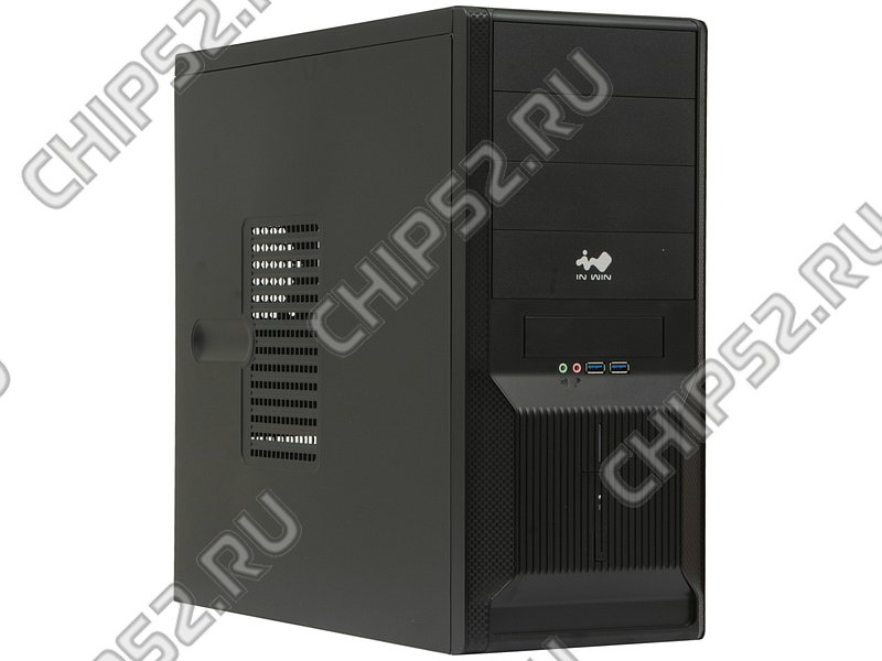 "Корпус Miditower IN-WIN ""IW-EC028U3"", ATX, черный (450Вт)"