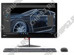 "Моноблок Lenovo ""ThinkCentre X1"" 10JX001RRU (Core i7 6600U-2.60ГГц, 8ГБ, 256ГБ SSD, HDG, LAN, WiFi, BT, WebCam, 23.8"" 1920x1080, W'10 Pro) + клавиатура + мышь"